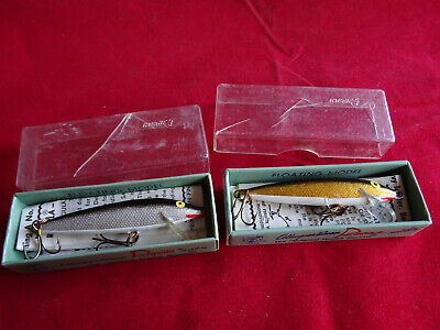 A Pair Of Early Boxed Repala Lures, Possibly Unused • 18.99£