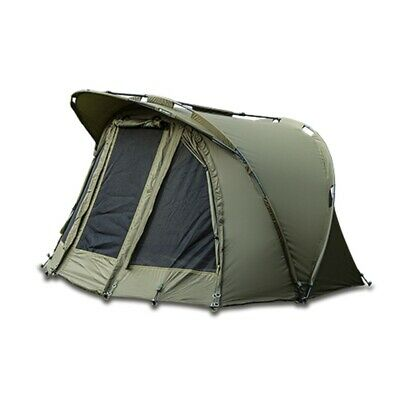Saber Capsule Carp Fishing Bivvy Day Tent Shelter System + Ground Sheet • 149.95£