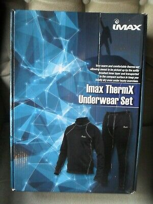 Imax Thermax Underwear Set Size Small Fishing,Hunting Skiing Ect • 26.99£