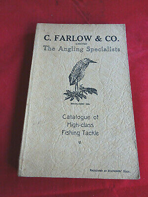 Scarce Vintage C Farlow Advertising Fishing Catalogue 91st Edition Circa 1932 • 44.99£