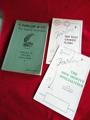 Scarce Vintage C Farlow Advertising Fishing Catalogue 92nd Edition Circa 1933/34 • 46.99£