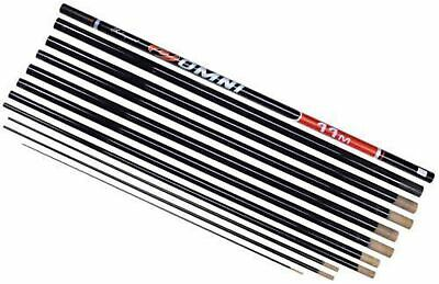 Shakespeare Omni MK2 Full Carbon Pole 11m T3 Kit 18 Elastic Fitted • 103.94£