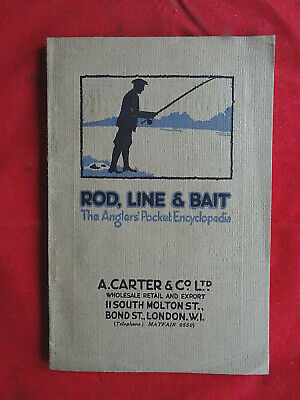 Rare Carter & Co Advertising Fishing Catalogue Circa 1924 • 49.99£