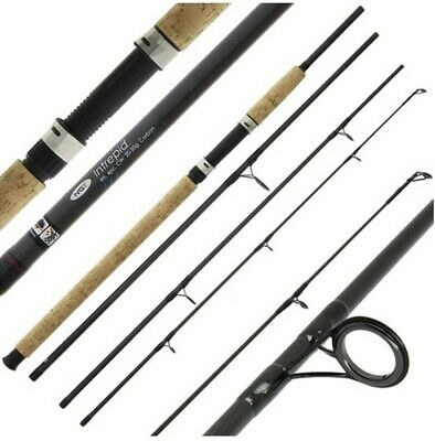 1-2Rods XNew NGT Intrepid9FT 4PC Carbon All Round CarpCoarseSea FishingTravelRod • 25.01£