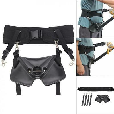 Fishing Boats Rod Stand Saltwater Fishing Fighting Belt Waist Support Holder New • 36.91£