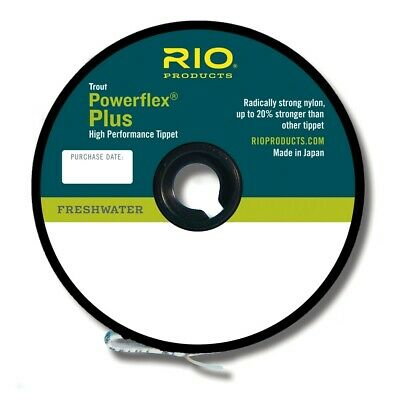 Rio Powerflex Plus High Performance Trout Fly Fishing Tippet Material • 10.45£