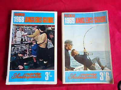A Pair Of Vintage Allcocks Advertising Fishing Catalogues For 1968 & 1969 • 16.99£