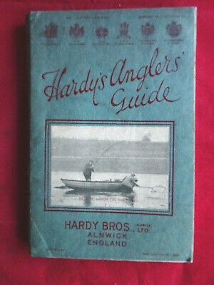 A Very Good Vintage Hardy Advertising Fishing Catalogue Anglers Guide 1937 • 39.99£