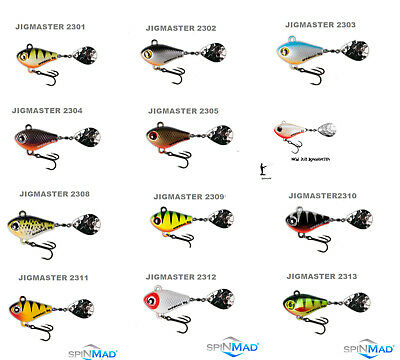 Spinmad JIGMASTER 8g. 34mm. Excelnt For Chub & Perch 1st Class Post • 4.99£