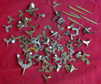 Collection Of Vintage Old Factory Stock Lure Head Fittings Etc • 19.99£