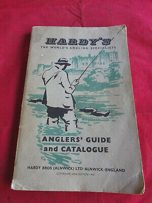 A Solid Vintage Hardy Advertising Fishing Catalogue Anglers Guide For 1957 • 15.99£