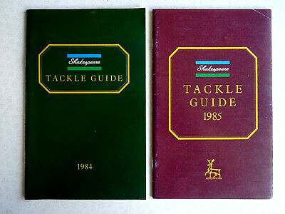 2x Vintage Shakespeare Fishing Catalogues For 1984 And 1985 • 15.99£