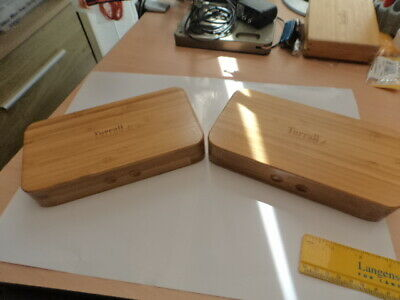 2 Grande (large) Turrall Bamboo Fly Boxes • 19.99£