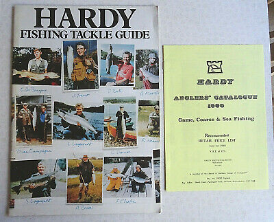Vintage Hardy Advertising Fishing Catalogue Anglers Guide For 1979 +1980 P.l. • 14.99£