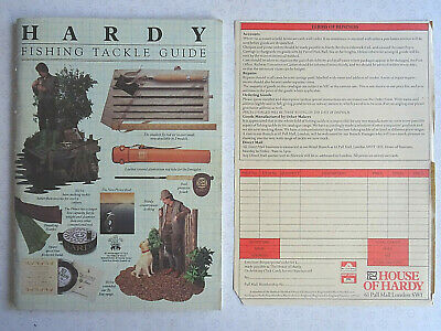 Vintage Hardy Advertising Fishing Catalogue Anglers Guide For 1983 • 13.99£
