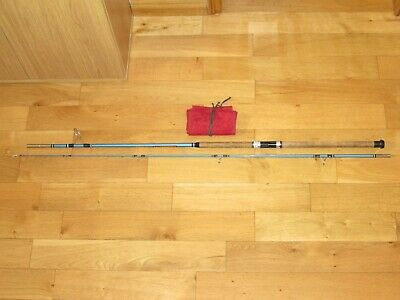 Excellent Condition Vintage 9' Abu Atlantic 403 Zoom Spinning Fishing Rod & Bag • 69.99£