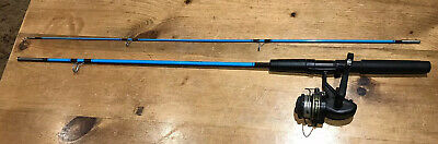 Shakespeare Sp 1934 1.65m Action M Fishing Rod And 2001 Reel 3.1:1 Ratio • 12£