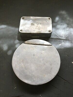 Richard Wheatley Silmalloy Cast Tin And Small Fly Box For Fly/trout Fishing • 25£