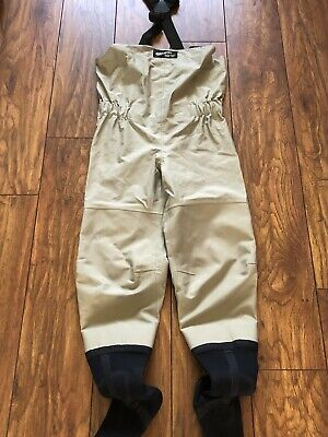 Simms Goretex Chest Waders And Wading Boots  • 32£
