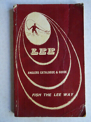 A Scarce Vintage 1962 Lee Of Redditch Fishing Catalogue & Guide • 16.99£