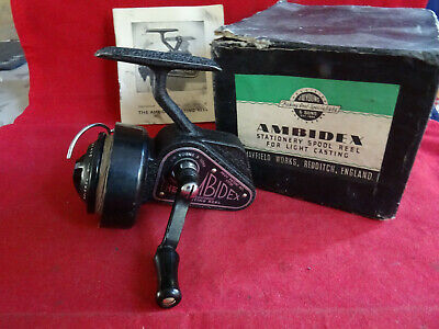 A Super Early Model Boxed J W Young Ambidex Threadline Reel + Booklet • 99.99£