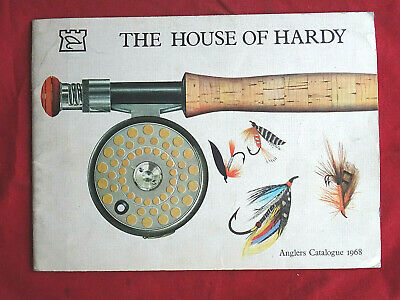 A Vintage Hardy Advertising Fishing Catalogue Anglers Guide For 1968 • 18.99£