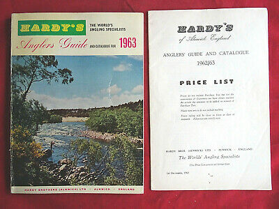 Vintage Hardy Advertising Fishing Catalogue Anglers Guide For 1963 + Price List • 21.99£