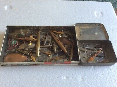 Vintage Lures In Tin Boxes • 5.50£