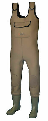 Shakespeare Sigma Neoprene Chest Wader Cleat Sole Game Course Or Saltwater • 89.99£