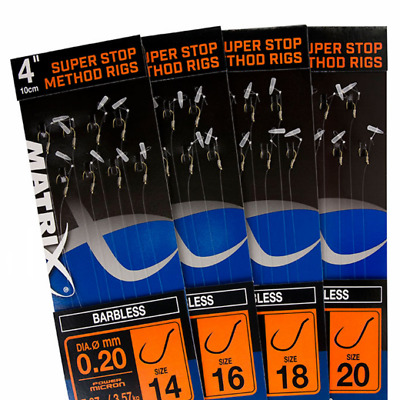 Matrix Hooks To Nylon- BUY 1 GET 1 FREE, COARSE MATCH CARP FISHING  • 3.25£