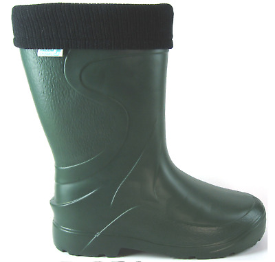Ladies Womens Wellies Thermal Wellingtons Rain Snow Boots Lightweight Sizes 3-8 • 17.89£