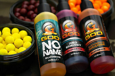 Korda Goo Kiana Carp Glug Dip - Supreme, Power & Bait Smoke - All Flavours • 12.98£