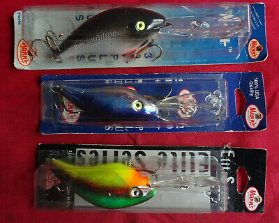 3x Old Shop Stock Mann's Pike/game Lures  • 15.99£