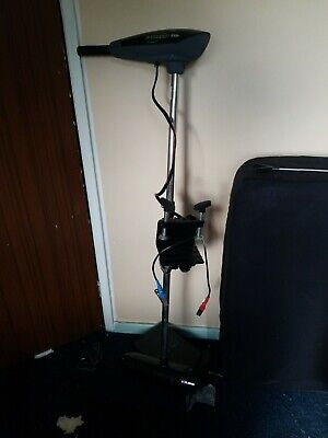 E THRUST 55LB Electric Boat Engine With 1 Leisure Battry. • 50£