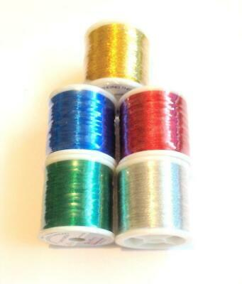 Pac Bay Metallic Rod Whipping Thread Grade A Continuous Multi-Filament 1 Spool • 9.99£