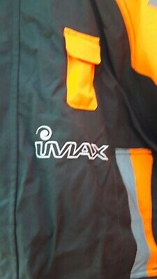 Imax Fishing Jacket And Bib N Brace Floatation Suit Good Condition Size Small • 50£