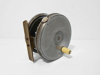 Vintage Rare Early Hardy Perfect 3  1917 Wide Drum Fly Fishing Reel  • 2,500£