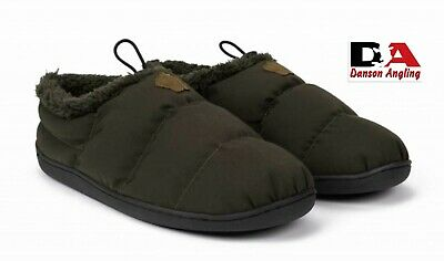 Nash Green Deluxe Bivvy Slippers New Ideal Gift Fishing Clothing • 24.99£