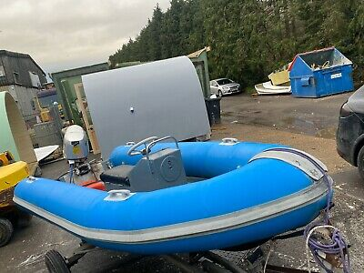 Avon Sr4 Rib With 30hp 4stroke Very Stable Boat  • 2,050£