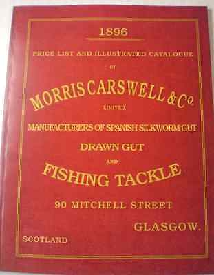 Ltd Ed. Repro Morris Carswell 1896 Advertising Fishing Catalogue A Must Lure Ref • 79.99£
