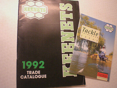 2 Old Keenets Advertising Fishing Catalogues 1992 And 1994/5 • 13.99£