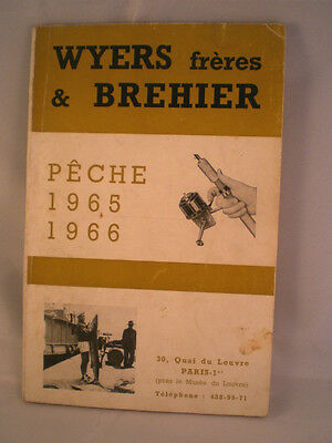 Vintage Wyers Freres Et Brehier Advertising Fishing Catalogue For 1965/66 Season • 29.99£