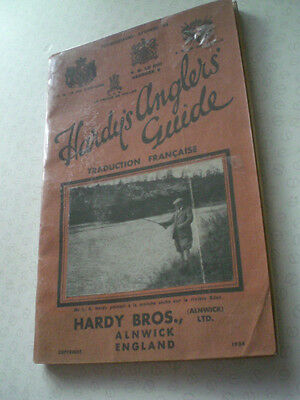 A Super Rare French Hardy 1934 Anglers Guide Advertising Fishing Catalogue • 189.99£