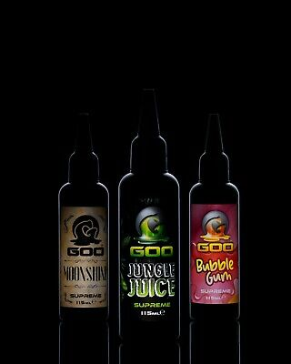 Korda Goo All Flavours Pinkberry, Isotonic, Krill, New Look Squid • 12.50£