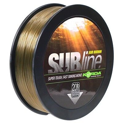 Korda Subline Mainline 1000m *all Breaking Strains*  • 17.87£