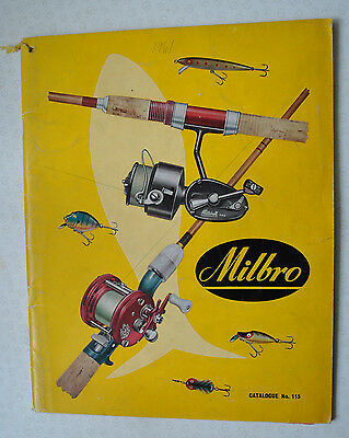 Rare Vintage Milbro Trade Fishing Advertising Catalogue For 1961 • 42.99£