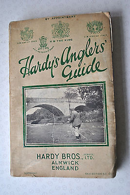 A Good Scarce Vintage Hardy Advertising Fishing Catalogue Anglers Guide For 1931 • 49.99£
