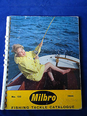 Vintage Milbro Trade Fishing Catalogue For 1964 Inc. Abu + Mitchell Reel Ads. • 32.99£