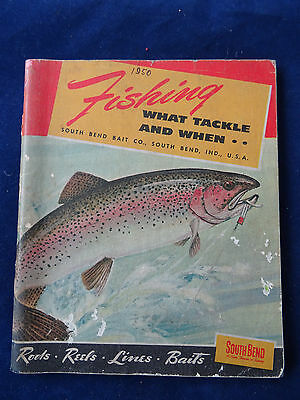 A Vintage South Bend Advertising Fishing Catalogue For 1950 • 19.99£