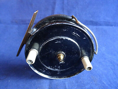 A Very Fine Unnamed J W Young Pattern 9 Centrepin Reel • 79.99£
